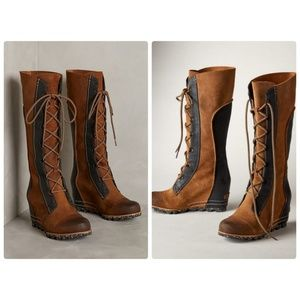 Sorel Cate the Great Wedge Boots Elk 7